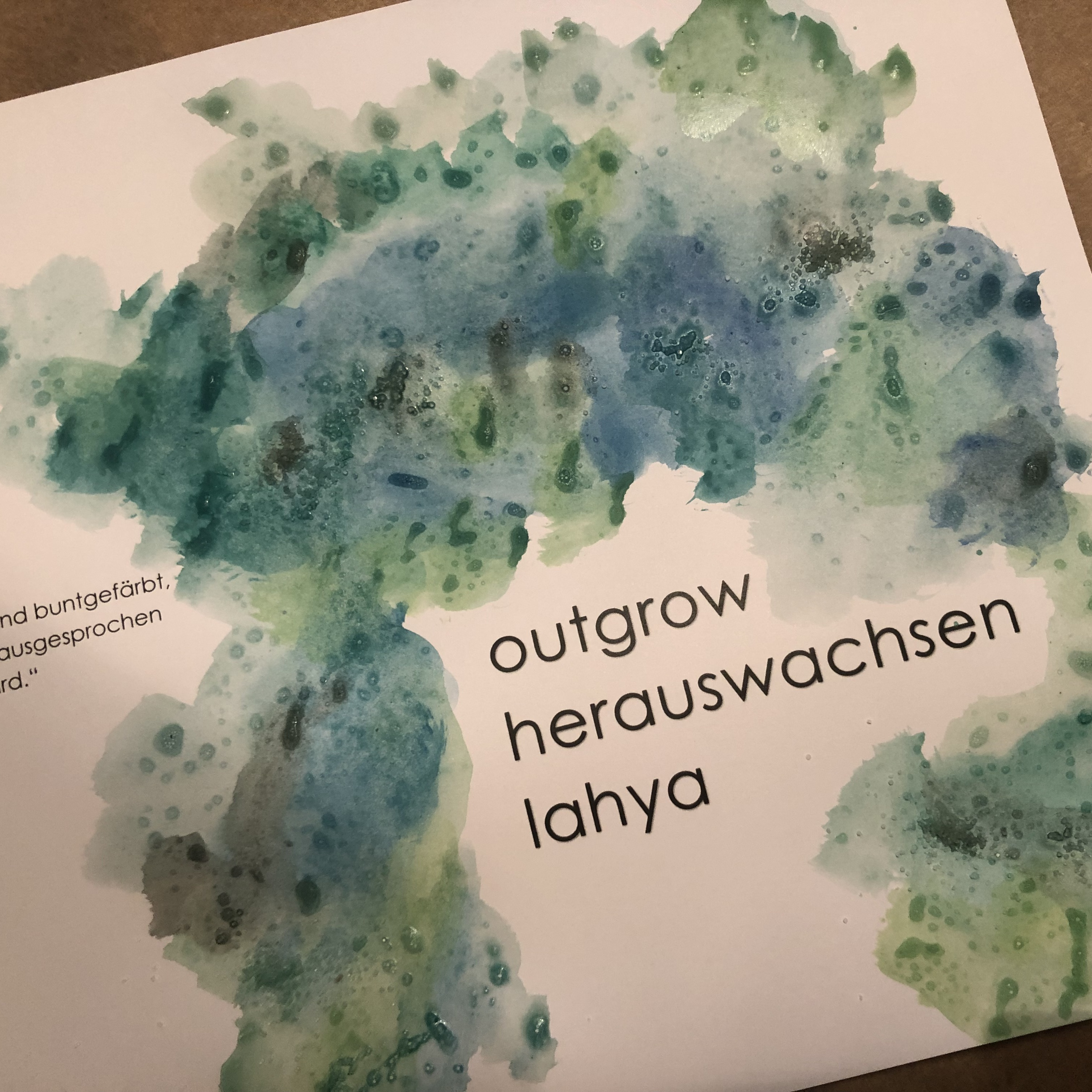 Poetry Exhibition | Overgrow  – Herauswachsen